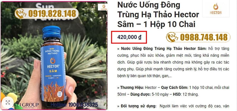 gia-nuoc-dong-trung-ha-thao-sam-hector
